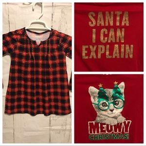 Bundle of 3 Girls Holiday Christmas tops